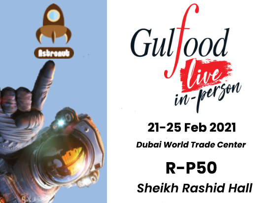 Visit our stand at GULFOOD 2021