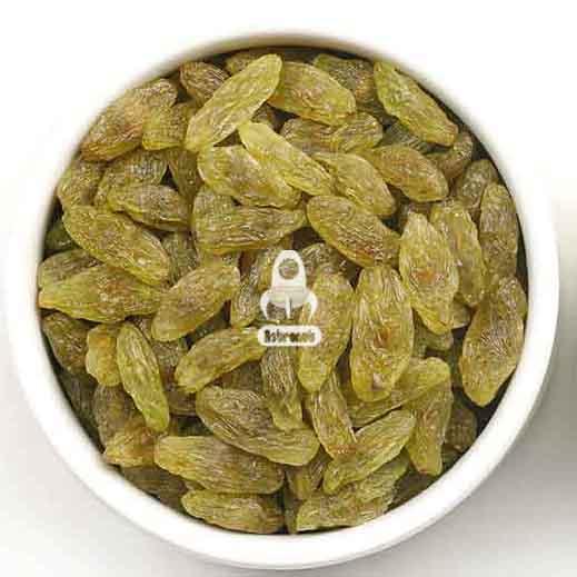 Green Kashmar Raisins Astronutfood